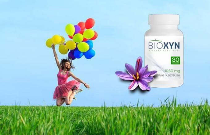 Bioxyn, Mädchen mit Luftballons
