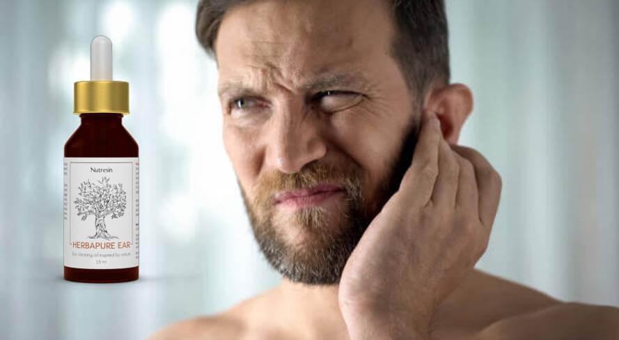 nutresin, Mann mit Ohrenproblemen