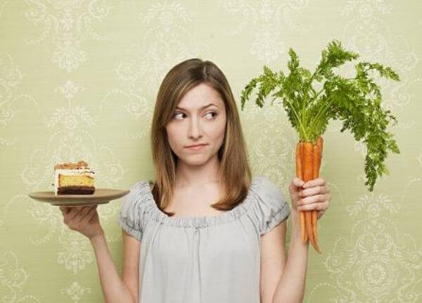 Karotten, Frau, Kuchen