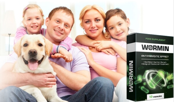 wormin kapseln, Entgiftung, Parasiten, Familie