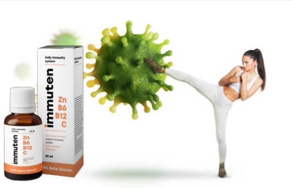 immuten Tropfen Immunsystem Immunität
