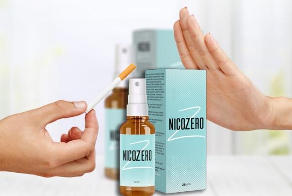 nicozero spray, mit dem Rauchen aufhören, Zigarette