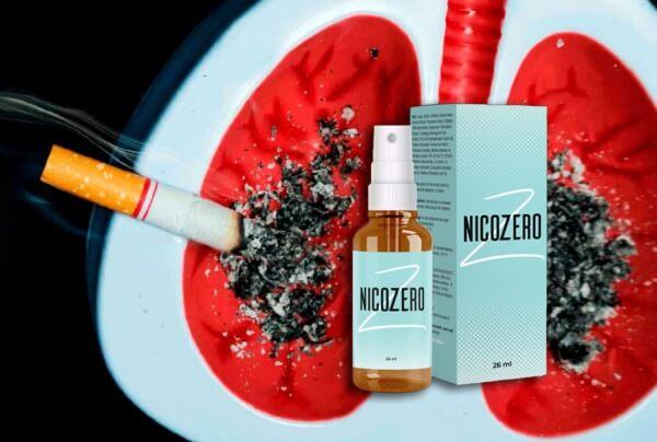 nicozero spray, Rauchen, mit dem Rauchen aufhören, Zigarette