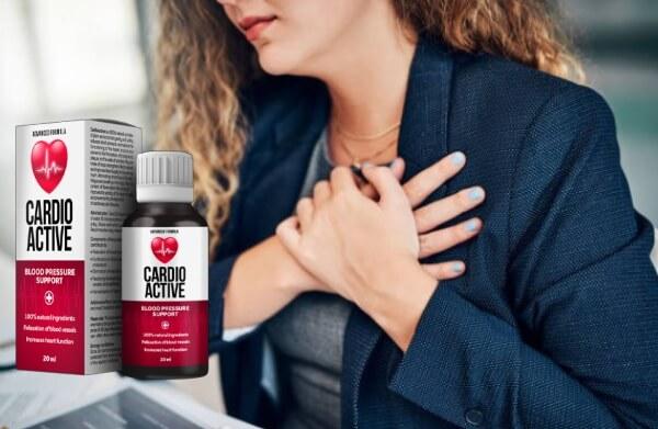cardioactive Tropfen Herz Hypertonie