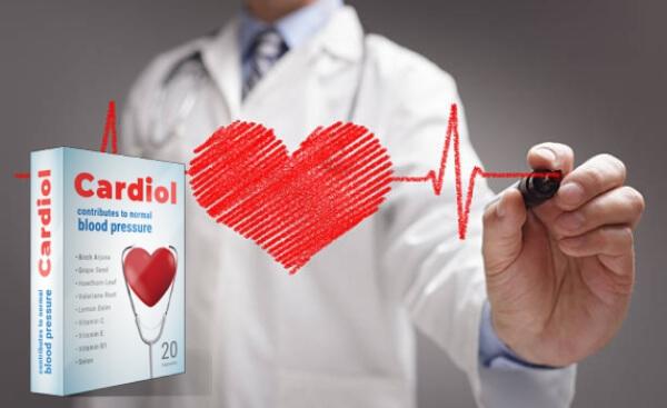cardiol Kapseln Herz Bluthochdruck Hypertonie