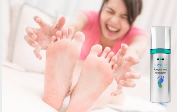 sprühen Pilze Beine Füße, Toosy