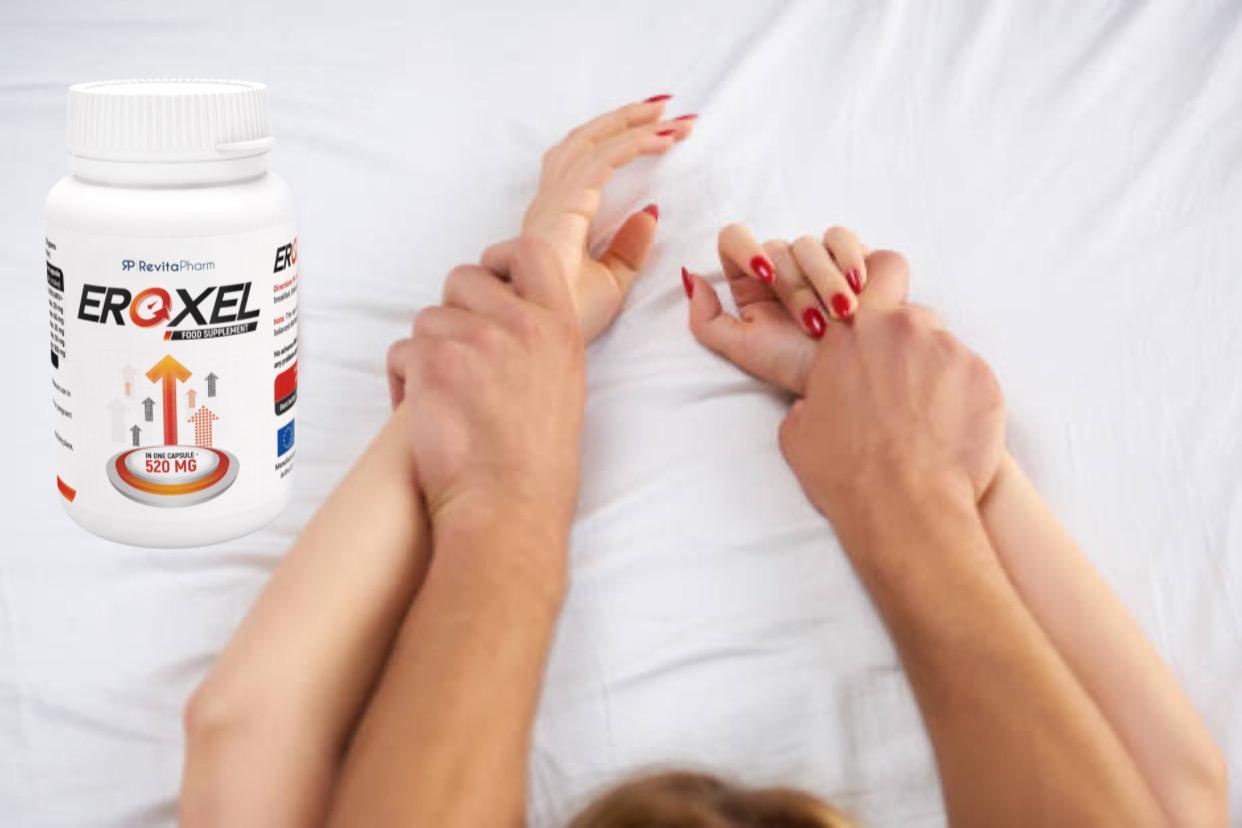 eroxel, glückliches Paar im Bett
